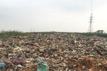 Phú Thọ: Bãi rác thải chờ đầy thì chôn tại chỗ hơn 10 năm ngay khu dân cư
