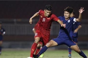 Hòa 0-0 đáng tiếc trước Thái Lan, U18 Việt Nam đánh mất quyền tự quyết