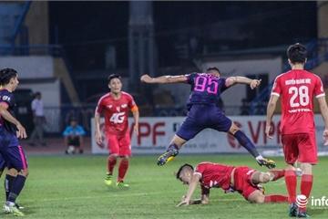 Viettel đánh mất 3 điểm trước Sài Gòn trên sân nhà Hàng Đẫy