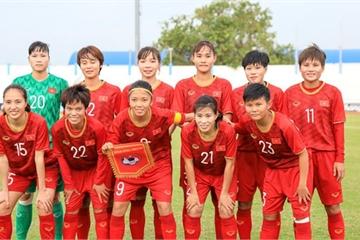 Nữ Việt Nam vô địch Đông Nam Á sau khi thắng nghẹt thở Thái Lan