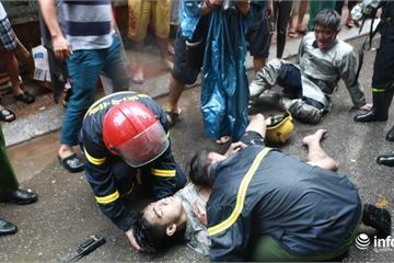 Hà Nội: Cháy nhà 5 tầng ở Núi Trúc, 1 thanh niên ngạt khói bất tỉnh