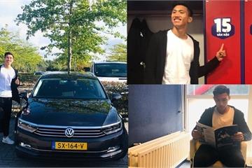 Đoàn Văn Hậu được SC Heerenveen cấp ô tô riêng tại Hà Lan