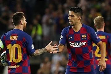 Luis Suarez lập cú đúp, Barcelona quật ngã Inter Milan nhờ...VAR