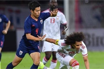 Đánh bại UAE, ĐT Thái Lan giành ngôi đầu bảng G