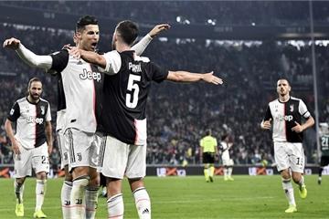 Ronaldo lập công, Juventus nối dài mạch chiến thắng