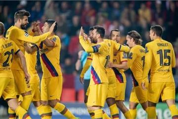 Messi lập công, Barca vất vả giành 3 điểm với đội bóng 'lót đường'