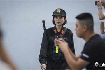 An ninh thắt chặt xung quanh buổi tập của đội tuyển quốc gia Việt Nam
