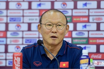 """HLV Park Hang Seo: """"Công Phượng sẽ ghi bàn trong trận đại chiến với Thái Lan"""""""