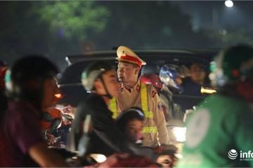 Hà Nội phân luồng giao thông phục vụ trận Việt Nam gặp Thái Lan