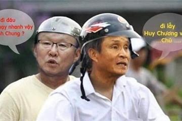 Chết cười với loạt ảnh chế HLV Park Hang Seo, sau khi U22 giành vàng SEA Games 30