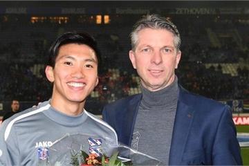 Đoàn Văn Hậu được vinh danh trong trận Heerenveen thua trên sân nhà