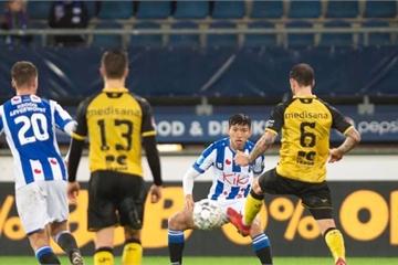 Văn Hậu ra sân, SC Heerenveen thắng lớn ở cúp Quốc gia Hà Lan