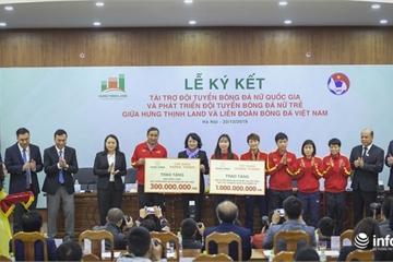 Sau SEA Games, ĐT nữ Việt Nam được tài trợ 100 tỷ để vươn tới giấc mơ World Cup