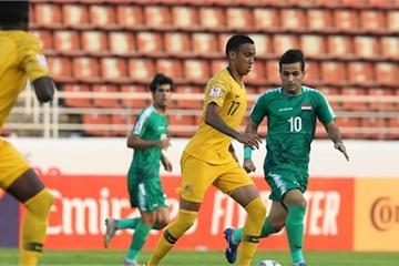 Iraq cầm hòa Australia trong trận mở màn U23 châu Á 2020