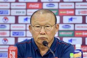 HLV Park Hang Seo nói gì trong buổi họp báo trước trận gặp U23 UAE?