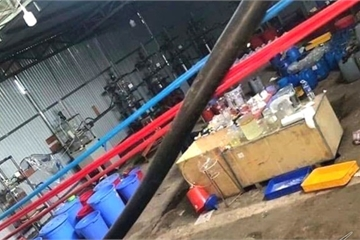 Xóa sổ 'xưởng' sản xuất ma túy cực lớn do người Trung Quốc điều hành ở Kon Tum