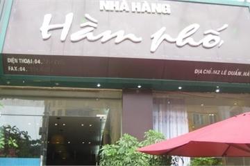 Hà Nội: Một người bị nhân viên nhà hàng Hầm phố đâm tử vong