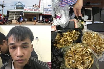 Nghi can trộm 200 cây vàng ở Bình Thuận bị bắt ở Bắc Ninh