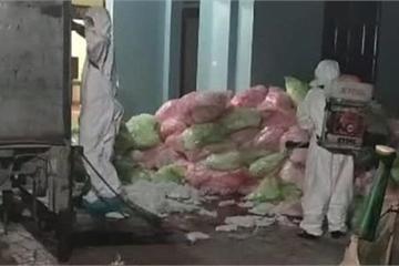 Gom 620kg khẩu trang y tế đã qua sử dụng ở Vĩnh Phúc: Công an đang điều tra