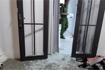 Đà Nẵng: Nhà riêng chủ tịch công ty bất động sản bị đập phá