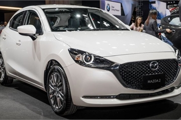 Mazda 2 facelift chốt giá 24.520 USD tại Malaysia