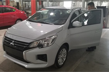 Lộ diện Mitsubishi Attrage 2020 sắp ra mắt tại Việt Nam
