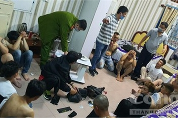 Đà Lạt: Bắt quả tang hơn 20 nam nữ tụ tập chơi ma túy trong khách sạn lúc nửa đêm