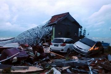 Nguy cơ tiếp tục xảy ra sóng thần ở Indonesia