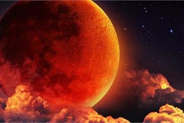 """""""Siêu trăng máu"""" xảy ra hôm nay 21/1/2019"""