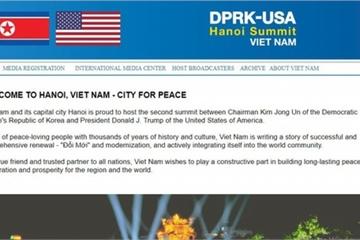 Bộ Ngoại giao mở website để PV đăng ký tham dự Hội nghị Thượng đỉnh Mỹ-Triều