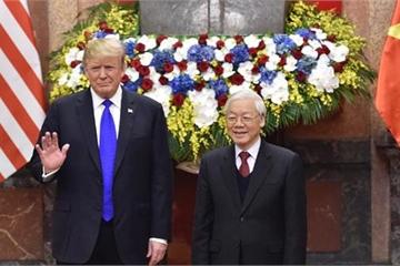 Tổng thống Donald Trump ca ngợi sự phát triển mạnh mẽ của Việt Nam