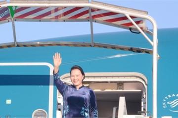 Chủ tịch Quốc hội Nguyễn Thị Kim Ngân đến Cộng hòa Pháp