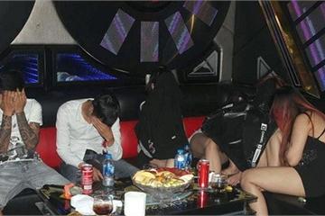 Gia Lai: Bắt quả tang 12 đối tượng sử dụng ma túy tại quán karaoke