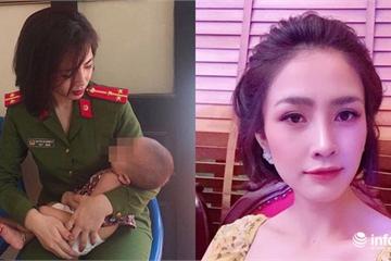 Danh tính nữ cảnh sát gây sốt mạng vụ giải cứu 2 bố con định nhảy cầu Nhật Tân