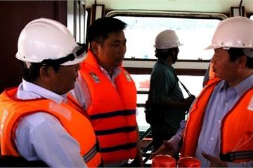 Ứng phó nguy cơ tràn dầu sau bão số 12 tại vùng biển Quy Nhơn