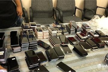 """Hơn 400 điện thoại di động nhập """"chui"""" từ Hàn Quốc về Việt Nam"""