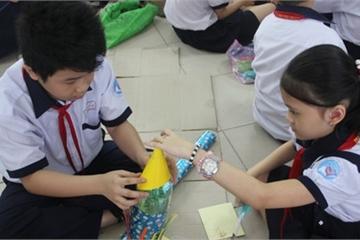 TP.HCM: 500 học sinh tiểu học hào hứng với ngày hội STEM