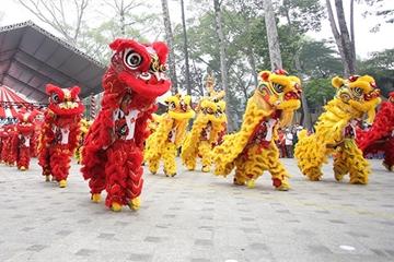 Lễ hội ánh sáng Countdown mừng năm mới tại phố đi bộ Nguyễn Huệ