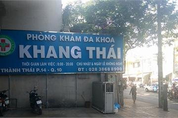 Tước giấy phép, xử phạt 2 phòng khám có bác sĩ Trung Quốc do sai phạm