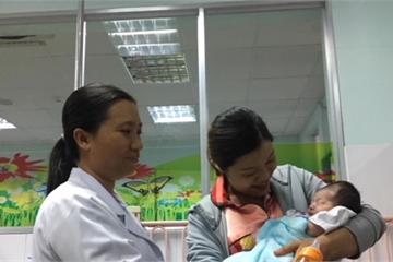 Kíp mổ 20 người cứu bé gái 3 ngày tuổi chịu 2 cuộc phẫu thuật tim lớn