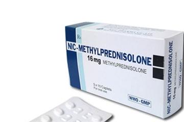 Thu hồi thuốc nội tiết Methylprednisolone kém chất lượng