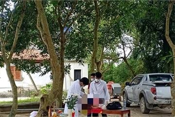 Hà Tĩnh: Phát hiện thi thể bé sơ sinh trước cổng chùa