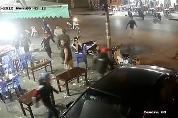 Thanh Hóa: Điều tra nhóm côn đồ mang hung khí truy sát người trong đêm