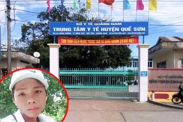 Quảng Nam: Khởi tố kẻ đánh vợ, đâm chết bảo vệ bệnh viện