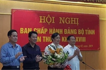 Ông Hoàng Trung Dũng được bầu giữ chức Phó Bí thư thường trực Tỉnh ủy Hà Tĩnh