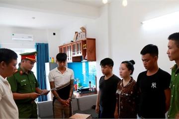 5 đối tượng từ Hà Nội vào Thừa Thiên Huế hoạt động tín dụng đen sa lưới pháp luật