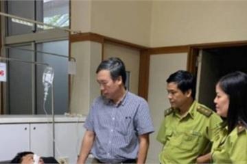 Tạm giam đối tượng hành hung cán bộ bảo vệ rừng ngay tại trụ sở cơ quan