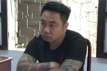 Thanh niên 'xăm trổ' từ Hà Nội vào Huế cho vay lãi nặng bị khởi tố, tạm giam
