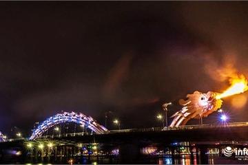 Đà Nẵng: Đề xuất thay đổi phương thức phun lửa, phun nước của cầu Rồng
