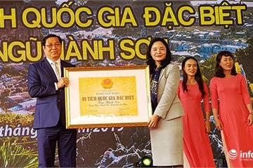 Đà Nẵng đón bằng xếp hạng Di tích quốc gia đặc biệt danh thắng Ngũ Hành Sơn